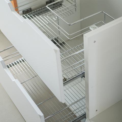 Напольный шкаф под мойку с 2 корзинами , 720х800 мм