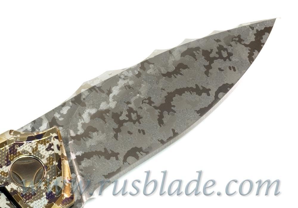 Muscle Custom Camo Tactical CKF/Bharucha Knife