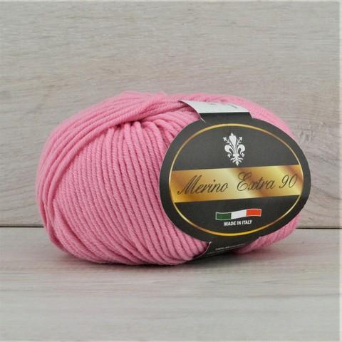 Пряжа Merino Extra 90 (Мерино экстра 90) Розовый