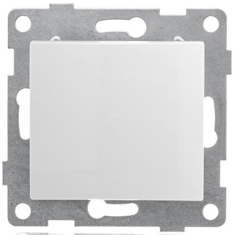 Выключатель одноклавишный, 10 А 220/250 В~. Цвет Белый. Bravo GUSI Electric. С10В1-001