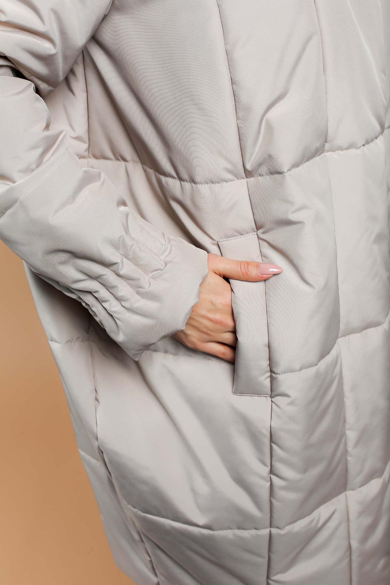 Пуховик-одеяло средней длины