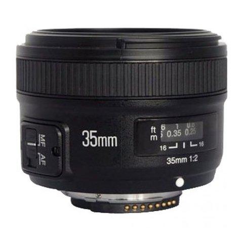 Объектив YongNuo AF 35mm f/2 для Nikon F
