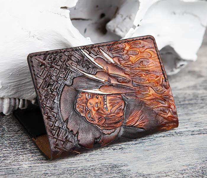 BC192 Обложка с ручным раскрасом «Фредди Крюгер» фото 03