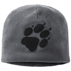 Шапка флисовая Jack Wolfskin Paw Hat dusty grey