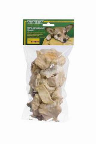 Титбит 0399 Хрустики говяжьи (мягкая упаковка)  *30