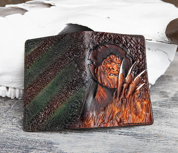 BC192 Обложка с ручным раскрасом «Фредди Крюгер» фото 04