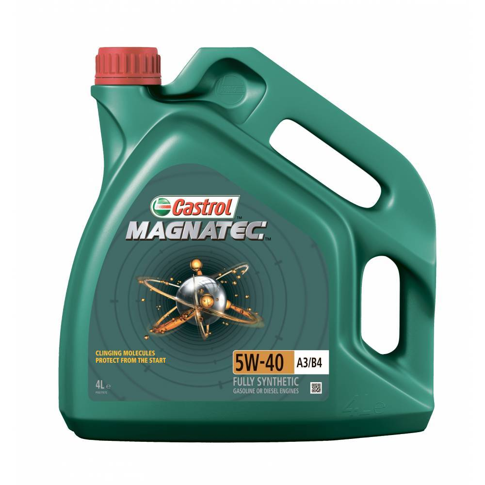Castrol Magnatec 5W40 A3/B4 Синтетическое моторное масло