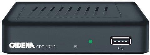 Цифровая приставка Cadena CDT-1712 эфирный ресивер DVB-T2