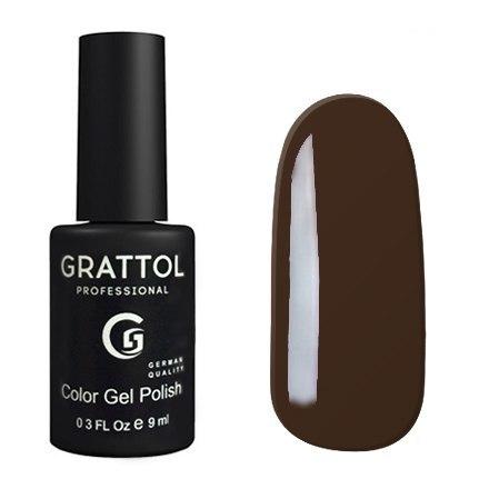Гель-лак GRATTOL 143 Black Coffe 9мл