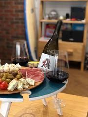 Складной столик для вина,изумрудный, фото 2