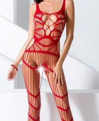 Супер эротичная сеть на тело (058) красная