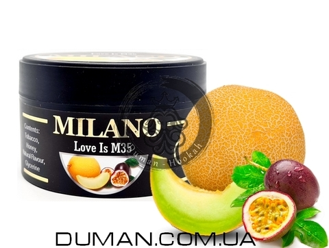Табак Milano M35 Love Is (Милано Маракуйя с Дыней)