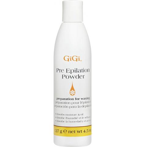 GiGi, Pre-Epilation Dusting Powder, 127 г. - пудра для подготовки кожи перед эпиляцией