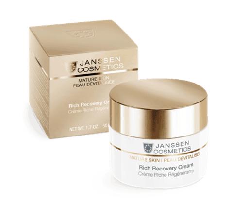 Регенерирующий крем Rich Recovery Cream, Mature Skin, Janssen Cosmetics, 50 мл