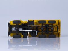 Ural-43202 board 6x6 wooden platform tires O-47A AutoHistory 1:43