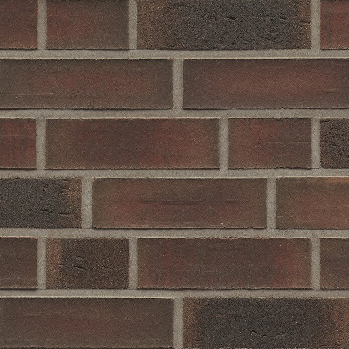 Feldhaus Klinker - R882NF14, Classic Baro Ardor Carbo, 240х71х14 - Клинкерная плитка для фасада и внутренней отделки