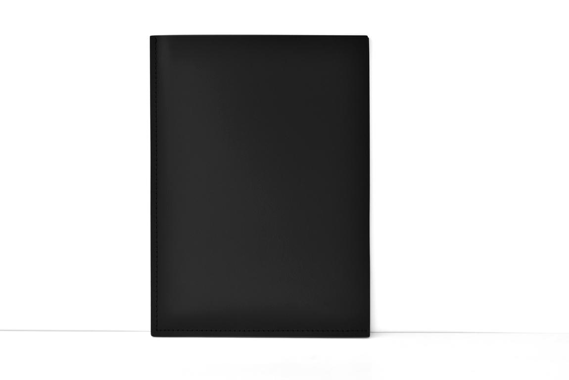 Папка-уголок А4 из кожи Buvardo цвет черный