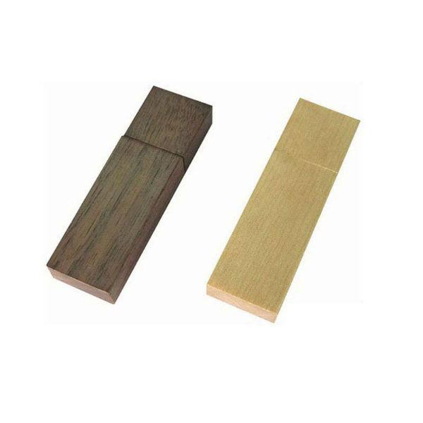 usb-флешка деревянная в форме бруска оптом