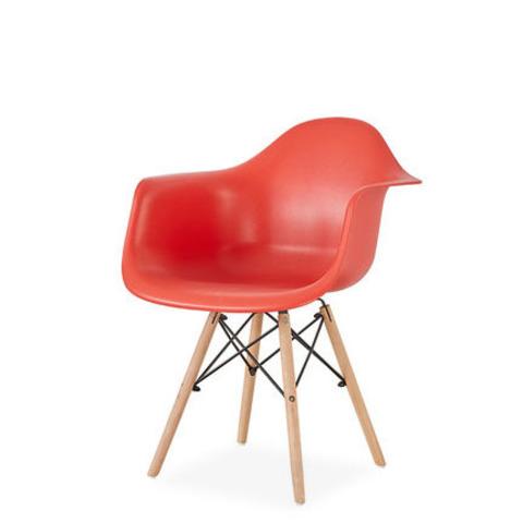 Стул-кресло DAW Eames by Vitra (красный)
