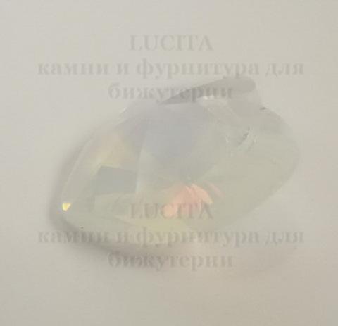 6202/6228 Подвеска Сваровски Сердечко White Opal (18х17,5 мм) ()