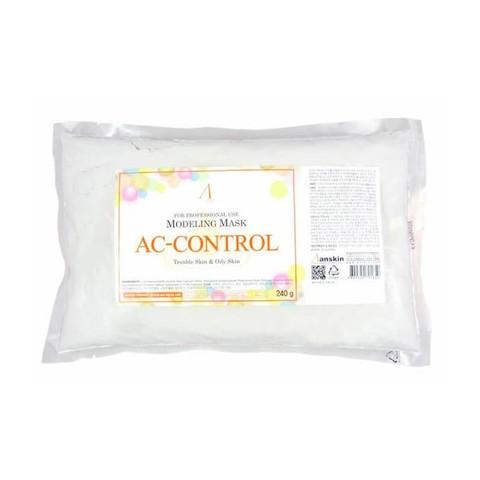 Маска альгинатная для проблемной кожи, акне (пакет) Anskin Original AC-Control Modeling Mask container, 240г