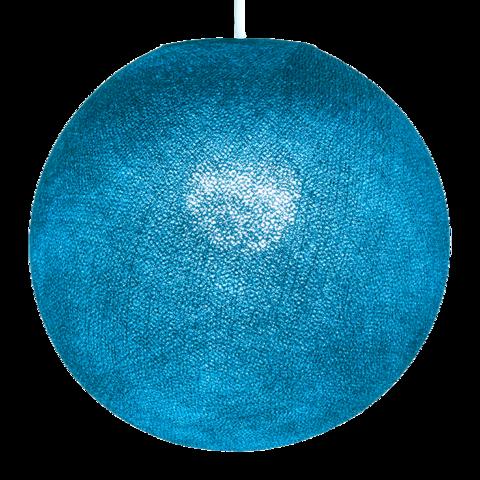 Хлопковый шар - подвес Синий