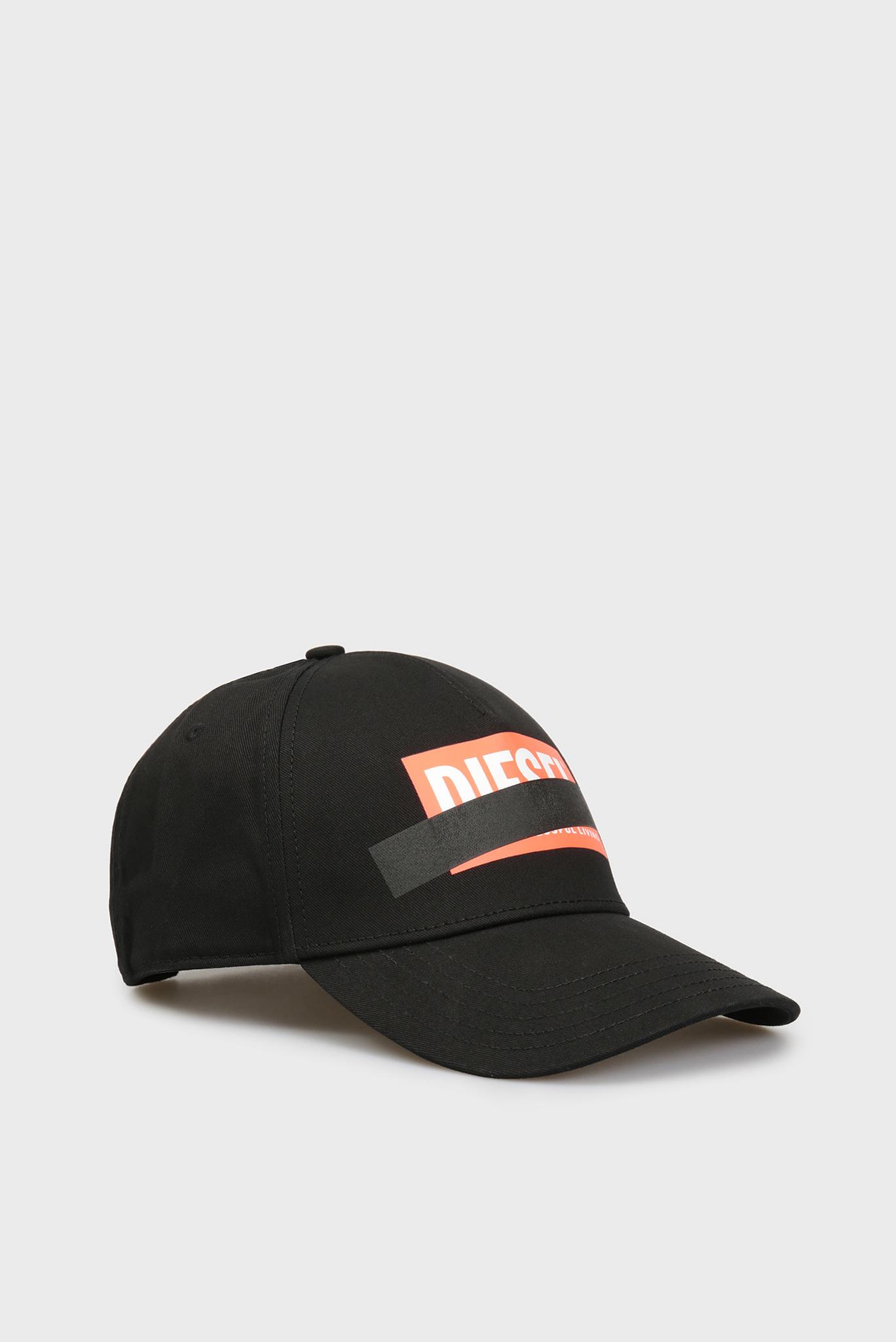 Черная кепка CIRIDE-M Diesel