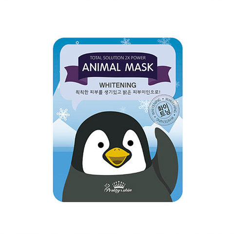 Осветляющая маска Total Solution Animal Penguin Whitening Mask