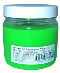 Слайм Стекло серия Party Slime, зеленый неон, 400 гр