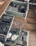 Подставка-органайзер в выдвижной ящик для хранения 9 кухонных ножей DrawerStore компактный серый Joseph Joseph 85120   Купить в Москве, СПб и с доставкой по всей России   Интернет магазин www.Kitchen-Devices.ru