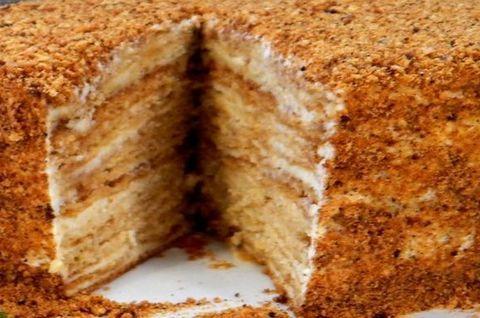 Торт: темный безглютеновый медовик