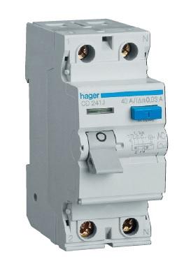 Устройство защитного отключения 2P 25A 100mA AC