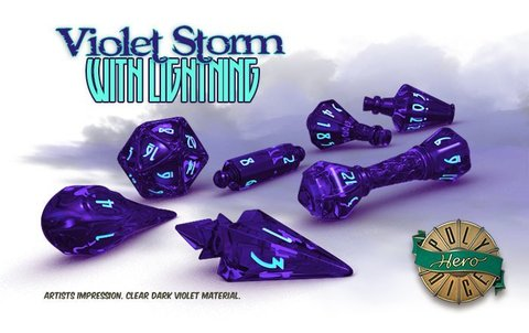 Wizard Set: Violet Storm & Lightning