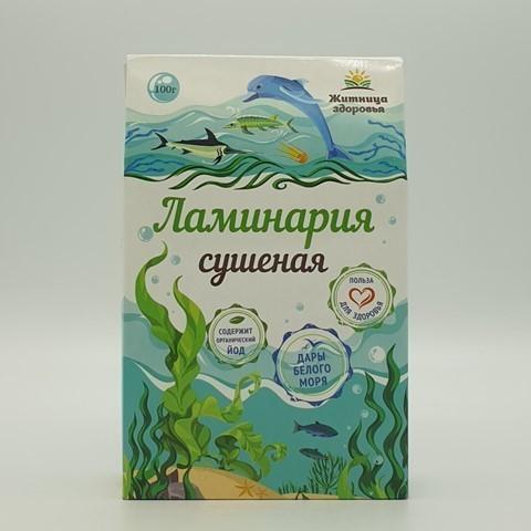 Ламинария сушеная ЖИТНИЦА ЗДОРОВЬЯ, 100 гр