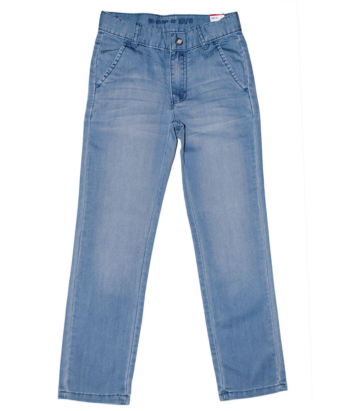 Джинсовые брюки (слаксы) BGF для мальчика 371509/836/275