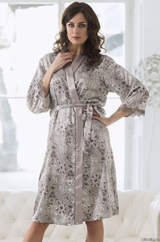 Длинный халат Mia-Mella 9297 STELLA