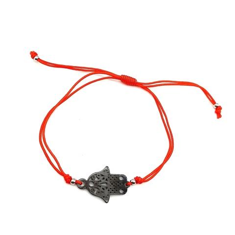 Браслет-красная нить c подвеской