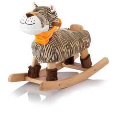 Jolly Ride Качалка меховая Тигр Tim (brown) (JR 524)