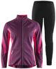 Элитный лыжный костюм Craft Sharp Softshell XC Storm Balance Purple женский