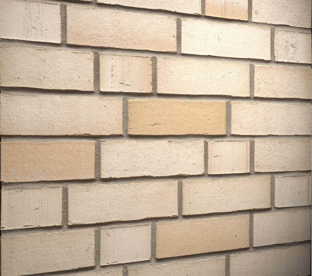 Feldhaus Klinker - R911NF14, Vario Crema Albula, 240х71х14 - Клинкерная плитка для фасада и внутренней отделки