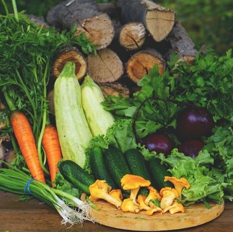 Фотография Набор из домашних овощей и зелени 5,5 кг купить в магазине Афлора