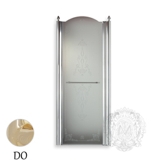 Душевая дверь Migliore Diadema Душевая дверь Migliore Diadema ML.DDM-22.581.ST.DO 80xH195 см, стекло матовое/декор R (DX