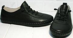 Летние кроссовки без шнурков женские Evromoda 115 Black