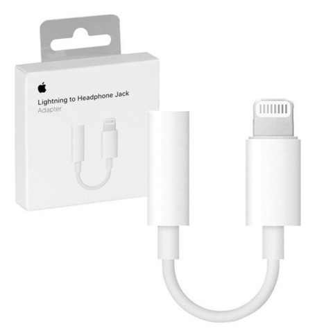 Переходник Apple Lightning - miniJack 3.5