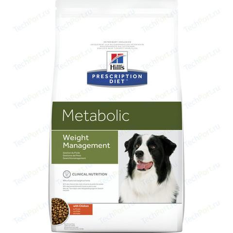 Корм для собак Hill's (4 кг) Prescription Diet Metabolic Canine Original dry