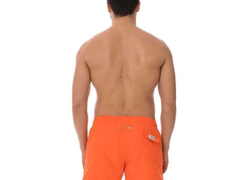 Шорты пляжные мужские оранжевые JOHN FRANK