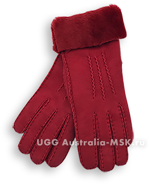 UGG Women's Glove Three Rays Red