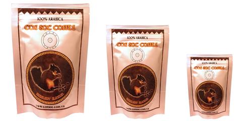 Вьетнамский молотый кофе Con Soc Белочка, арабика, 250 гр.