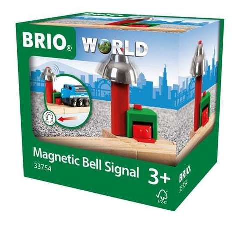 BRIO Сигнальный колокольчик, на магнитах, длина 5.4 см