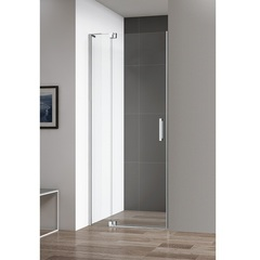 Дверь душевая распашная в нишу 90х195 см Cezares SLIDER-B-1-90/100-C-Cr фото